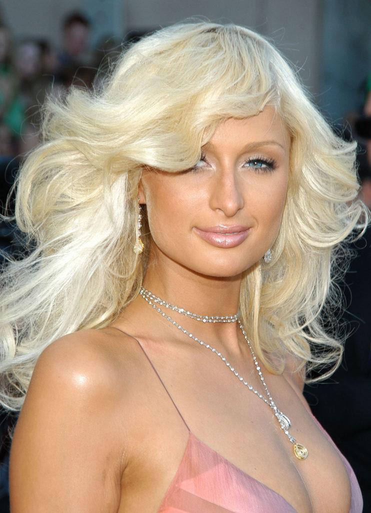 Paris Hilton in the 2000s