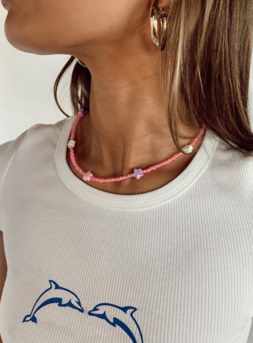 Colorful necklace from Princess Polly