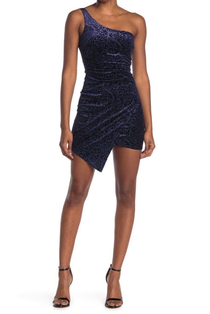 Italian fashion 101: Sexy dresses are key, like this one shoulder mini dress