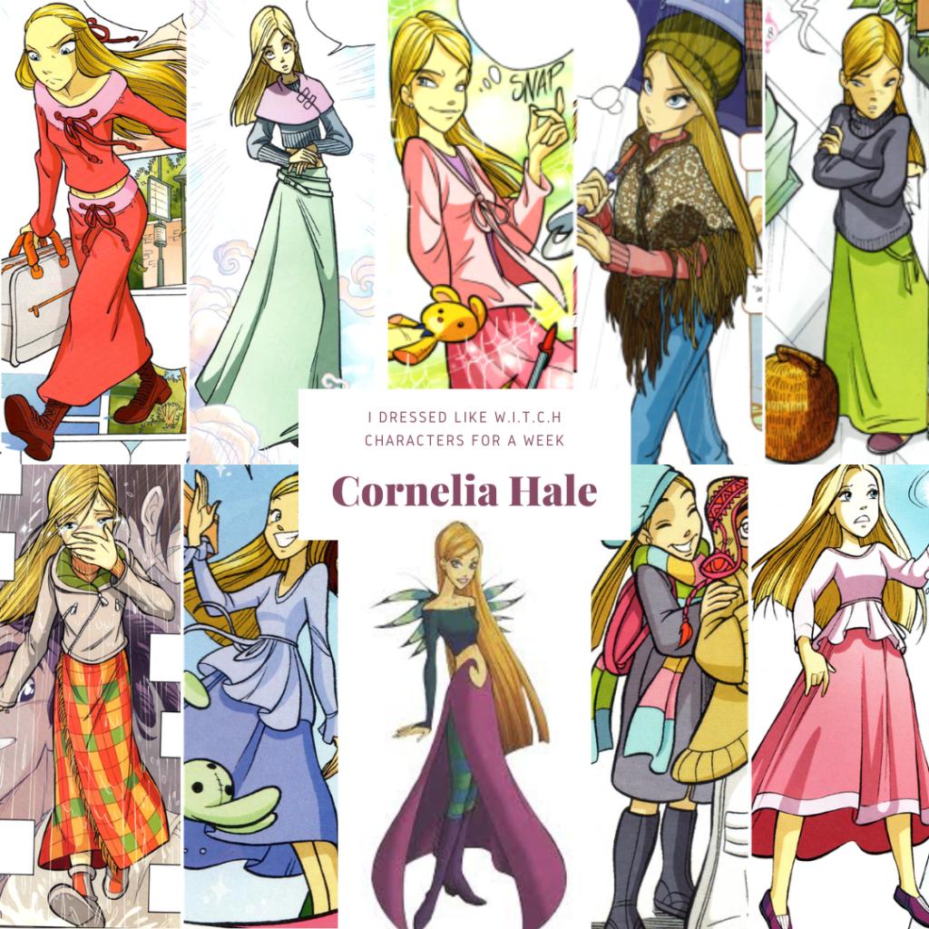 Cornelia Hale from WITCH