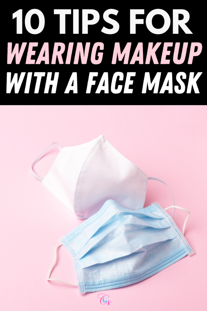 Header Image: Photo of two disposable face masks with the text