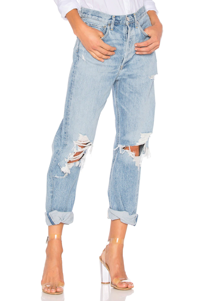 Agolde 90s ripped jeans