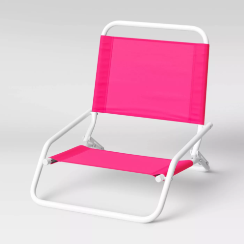 Beach vacation must haves for 2021: Cute beach chair from Target