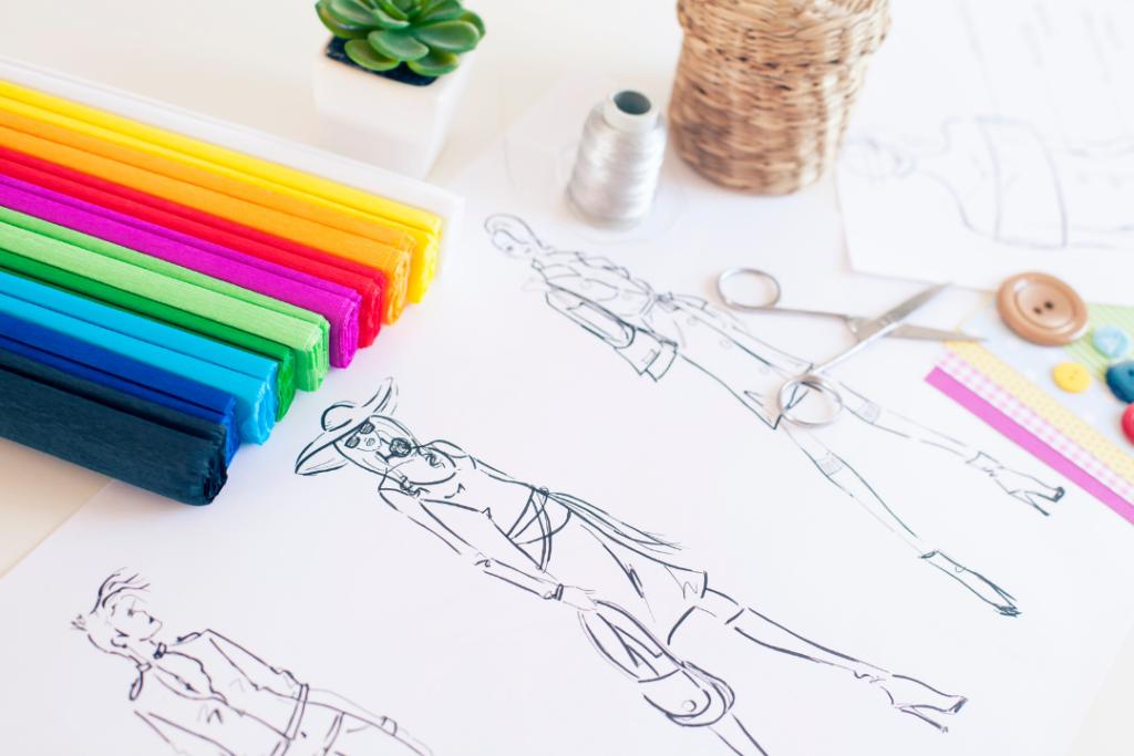 Fashion sketching 101: How to make fashion sketches and draw fashion figures