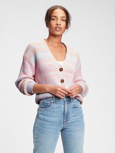 Gap Button Front Cardigan
