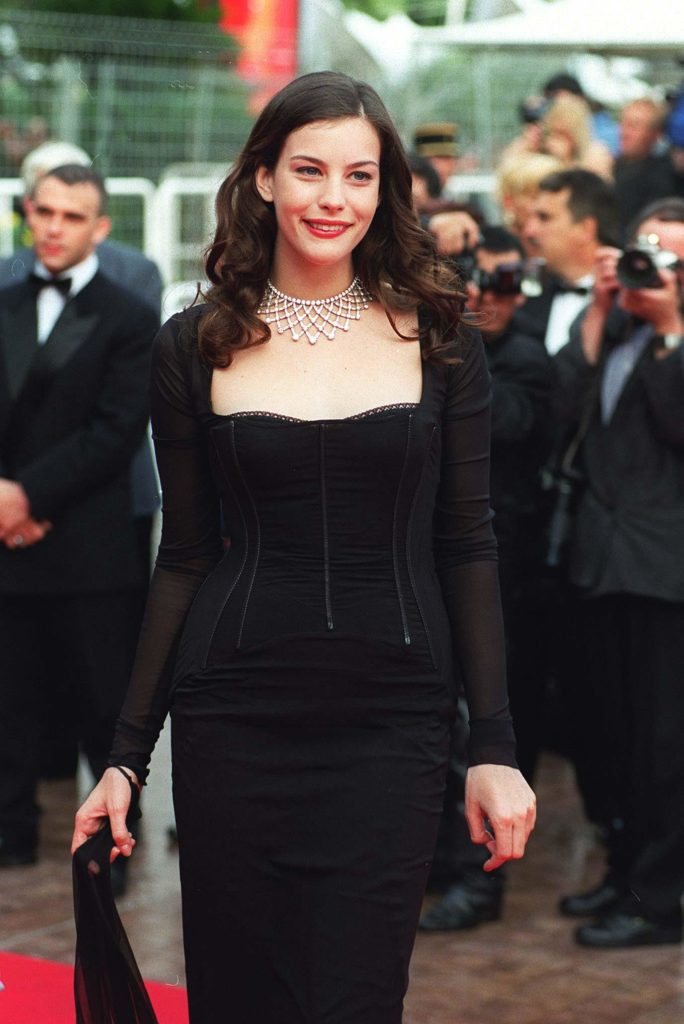 Liv Tyler at Cannes in 1997