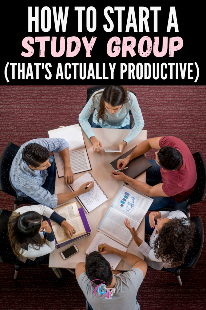 How to start a study group that's actually productive