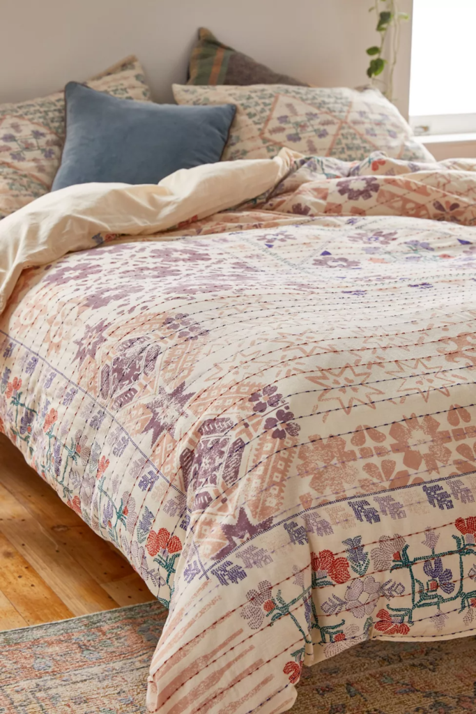 Ettie printed duvet cover from Urban Outfitters