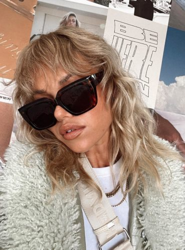 Large sunglasses from princess polly