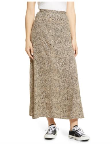 Billabong Animal Print Skirt