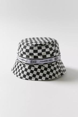 Vans checkered bucket hat