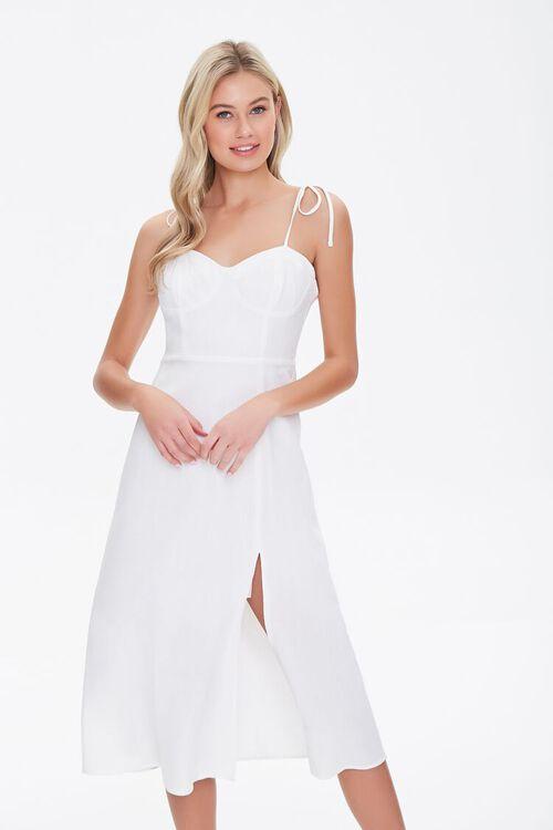 White sun dress from Forever 21