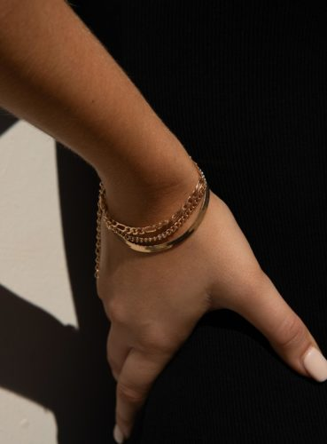 Chain bracelet set from princess polly