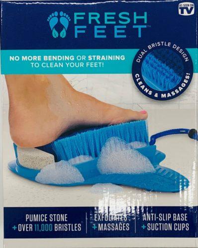 Fresh feet pumice stone and scrubber