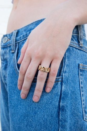 Chunky ring from brandy melville