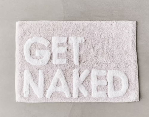 Urban Outfitters Get Naked bathmat