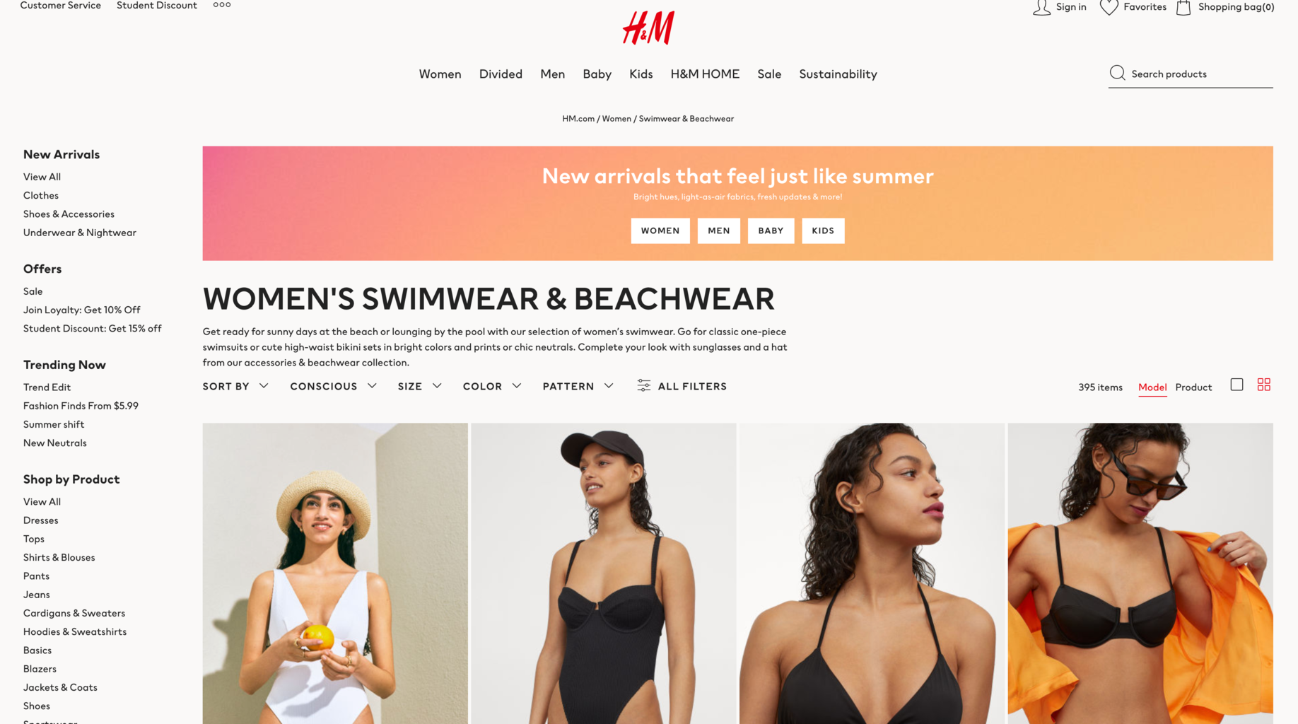 Photo from H&M