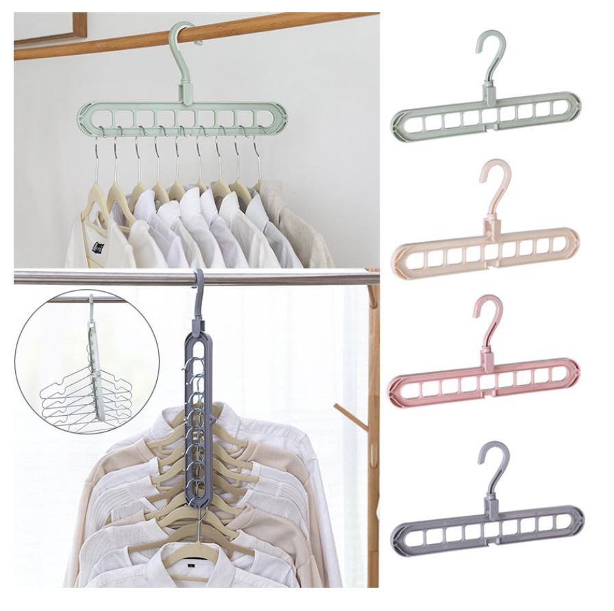 space saving hangers from Walmart