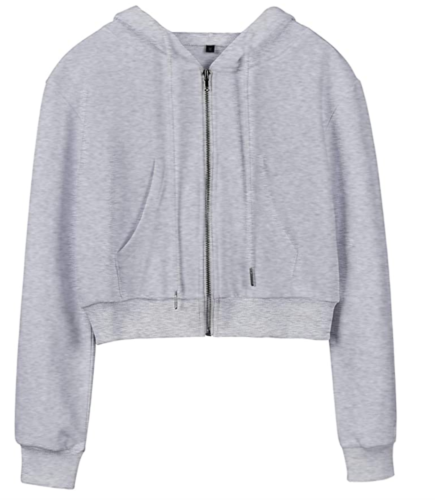 grey hoodie from Amazon
