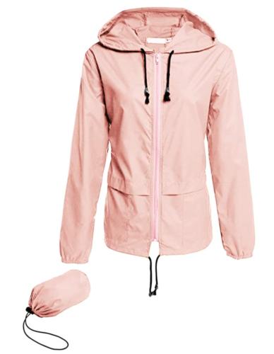 blush raincoat from Amazon