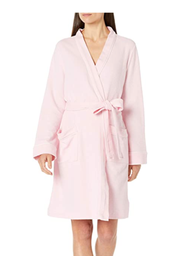 pink robe from Amazon