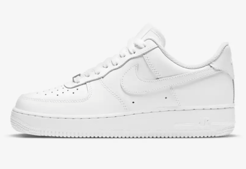white Air Force 1 sneakers from Nike