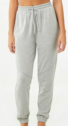 grey jogger sweatpants from Forever 21