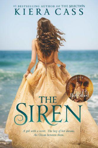 The Siren by Kiera Cass book cover