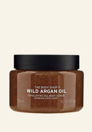 Wild Argan Oil body scrub from The Body Shop