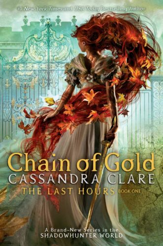 Chain of Gold Cassandra Clare book cover