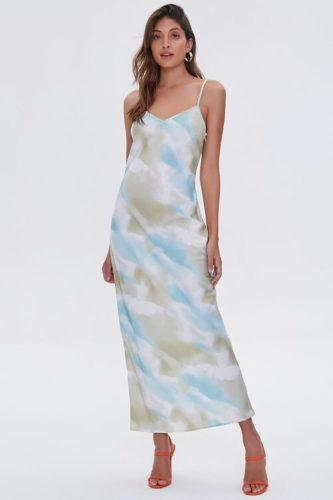Bodycon Slit Cami Dress