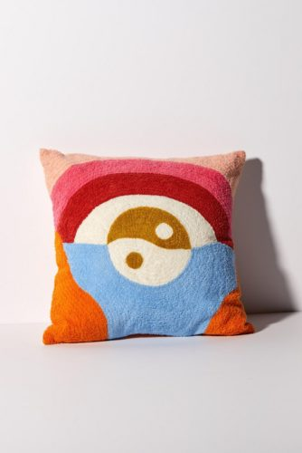 Yin Yang Landscape Pillow
