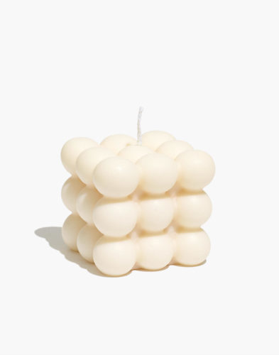 Bubble Cube Candle