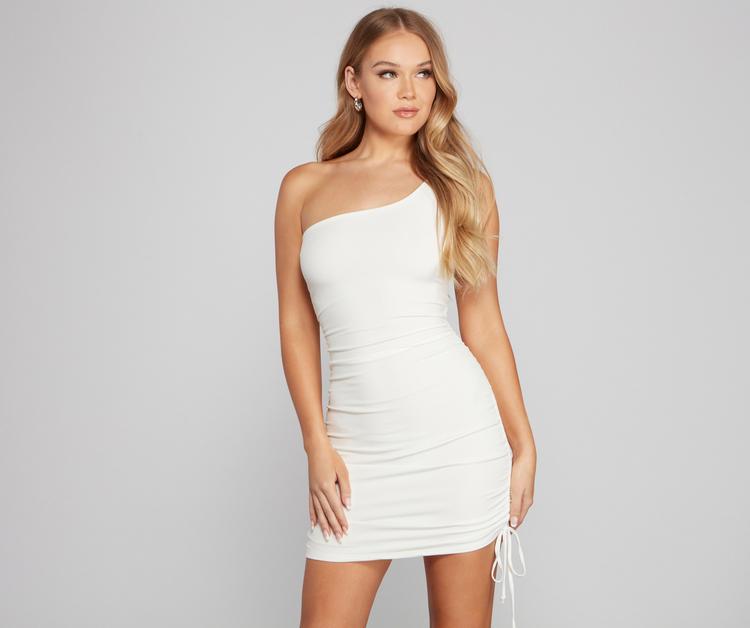 One shouler dress from Windsor