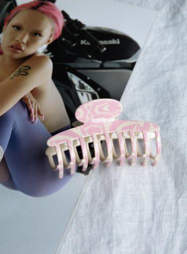 Bear claw hair clip from Princess Polly