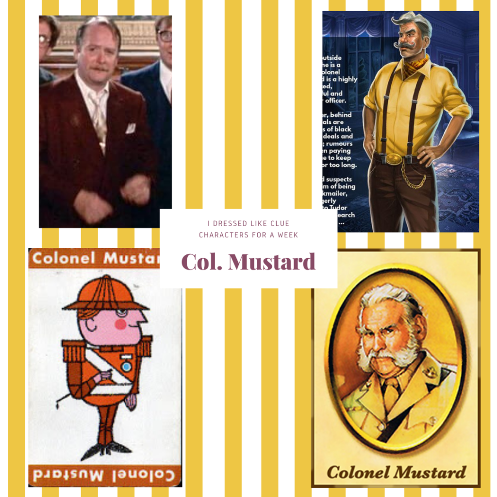 Col. Mustard from Clue