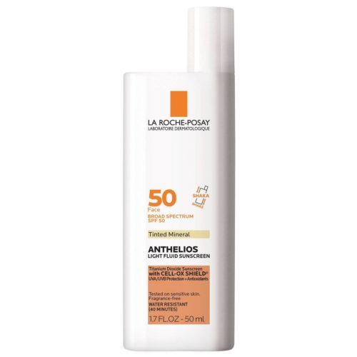 Anthelios SPF 60 tinted mineral sunblock