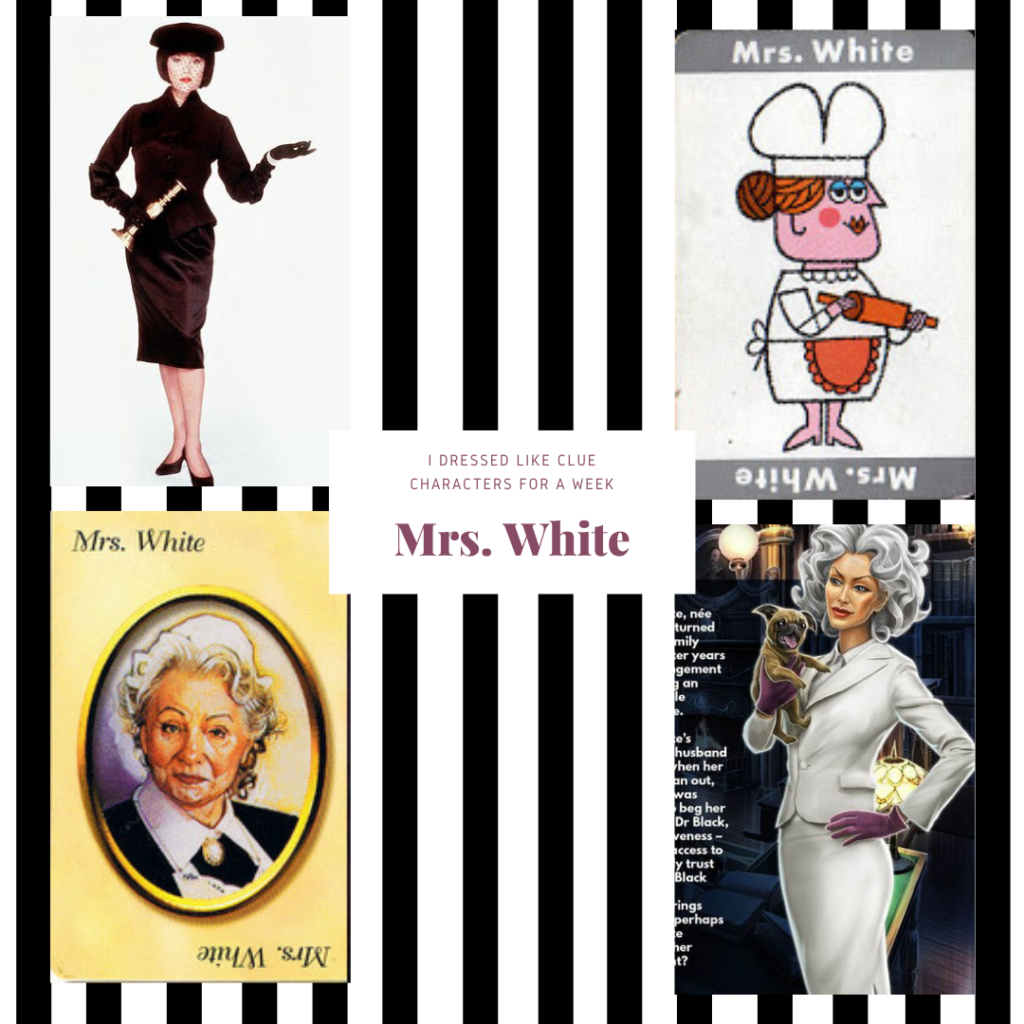 Mrs. White from Clue
