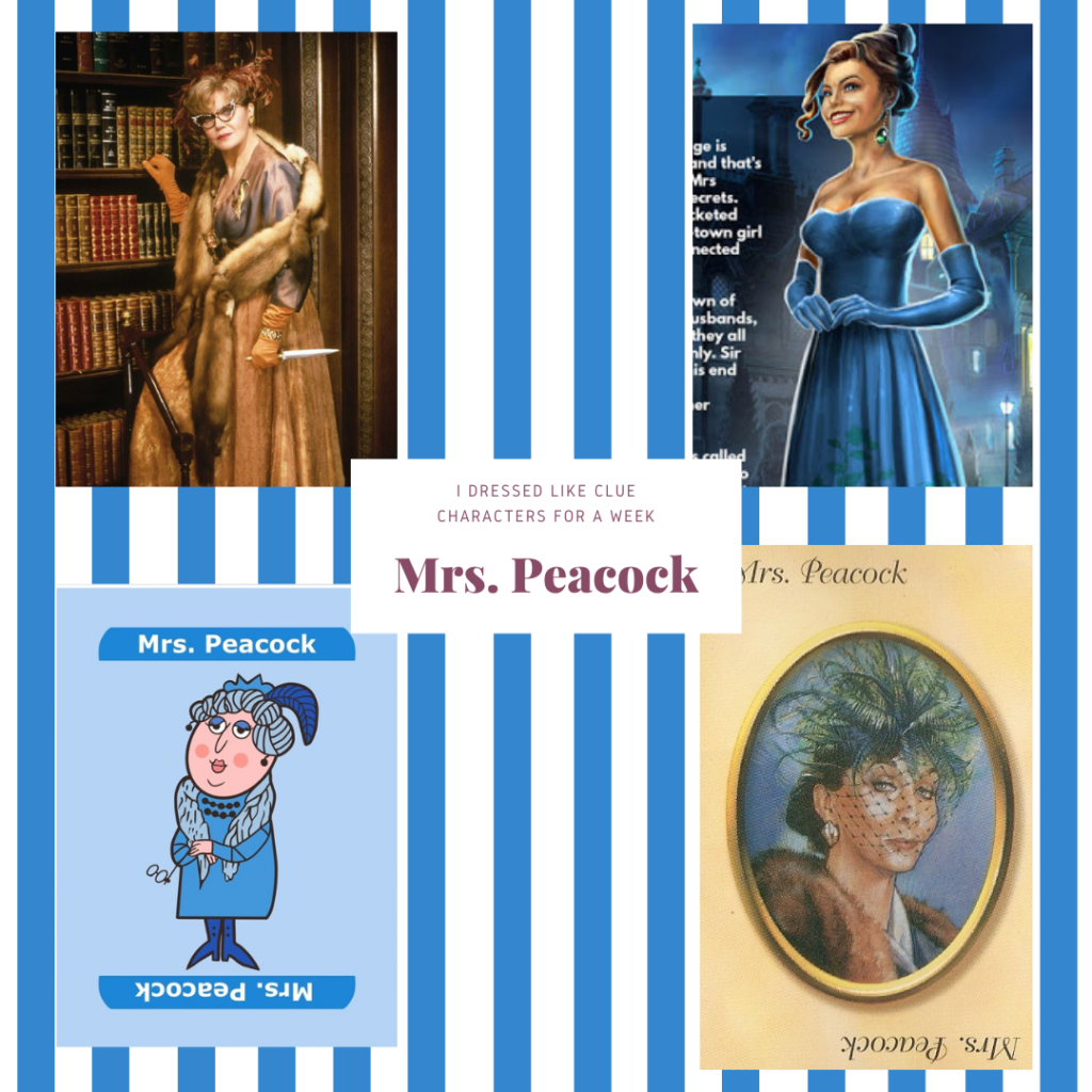 Mrs Peacock from Clue