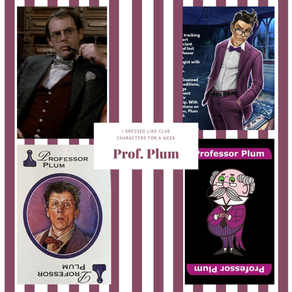 Professor Plum from Clue