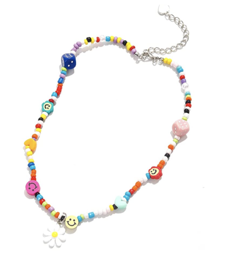 multicolored beaded bracelet, Amazon fashion finds