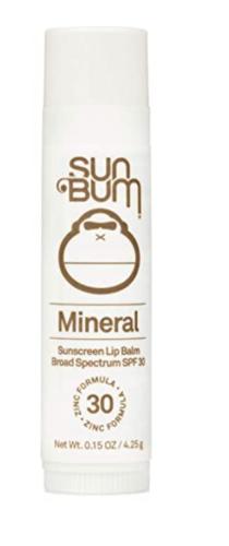 Sun Bum SPF chapstick