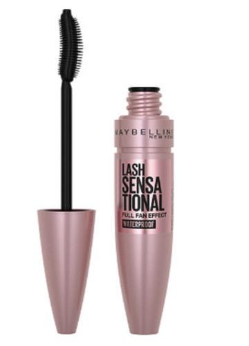 Maybelline Lash Sensational Waterproof Mascara sweat proof makeup