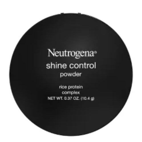 Neutrogeana Shine Control Powder from Target sweat proof makeup