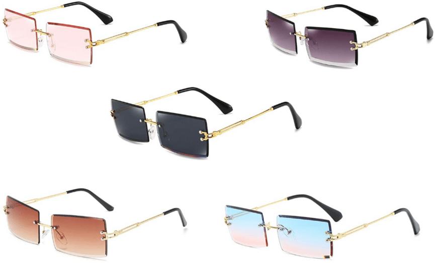 Cheap trendy sunglasses for 2021 - rimless sunglasses