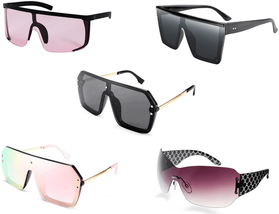 Cheap and trendy sunglasses for summer - rimless sunglasses