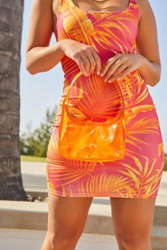 Translucent Shoulder Bag