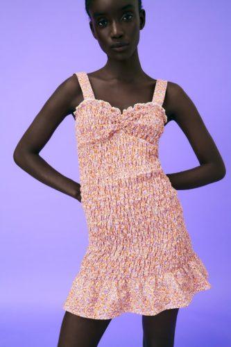 Zara Elasticized Dress