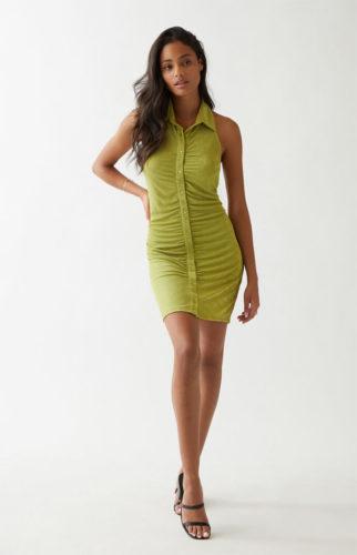 Summer dresses under 50 for 2021 - Slinky Button Front Dress