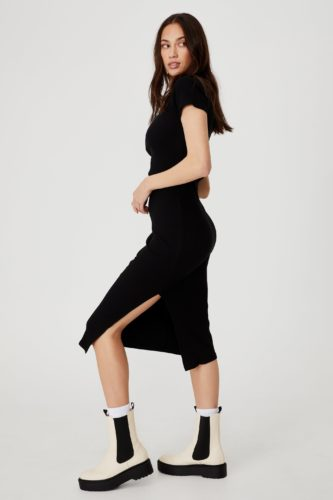 Summer dresses under 50 - Short Sleeve Midi Dress